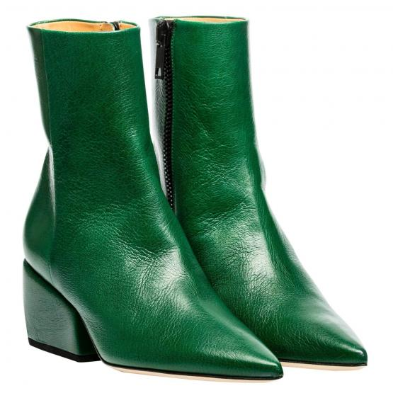 SARAH LEATHER NAPPA GREEN