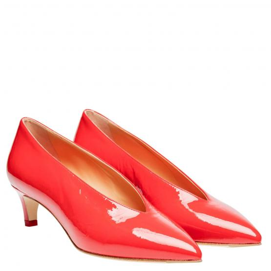 CAMILLA CRACKLE PATENT RED 38