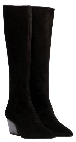 HARPER COW SUEDE BLACK 38