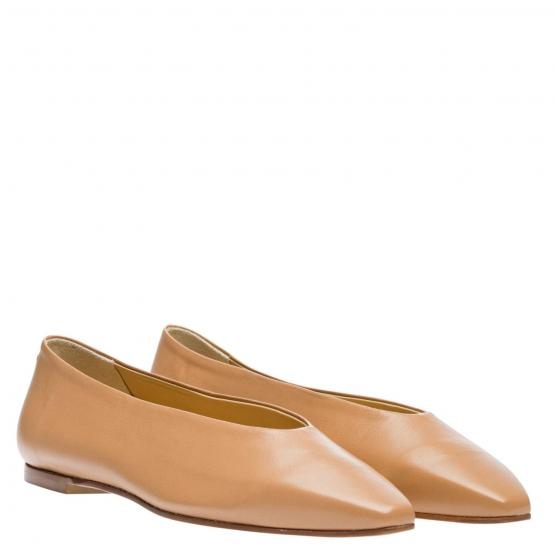 BETTY NAPPA LEATHER HAZELNUT 36½