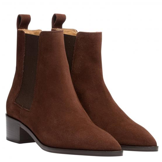 LOU COW SUEDE CHOCOLATE 38