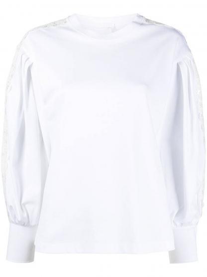 CHC21SJH81289 101 TOP WHITE L