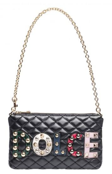 Dolce & Gabbana Damen Taschen Schwarz