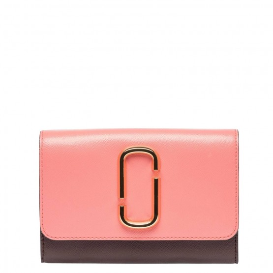 Marc Jacobs Damen Taschen Coral/ Dunkelbraun/Wollweiß Billig Sehr Billig 7ZB38i