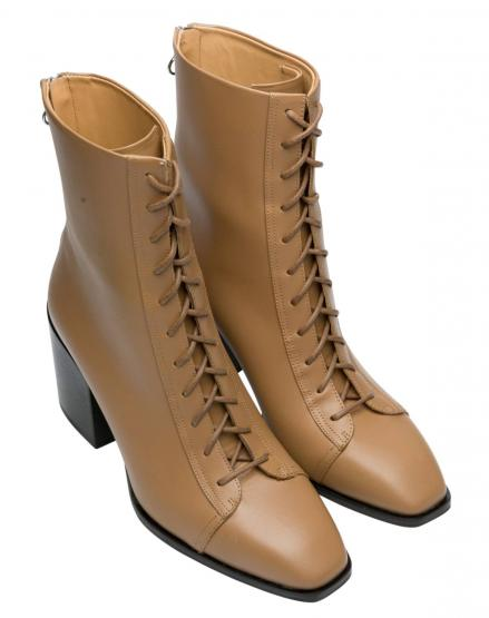 LOTTA CALF LEATHER HAZELNUT 40